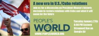 People's World Broadcast on Cuba