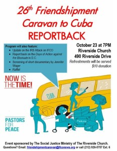Reportback Flyer