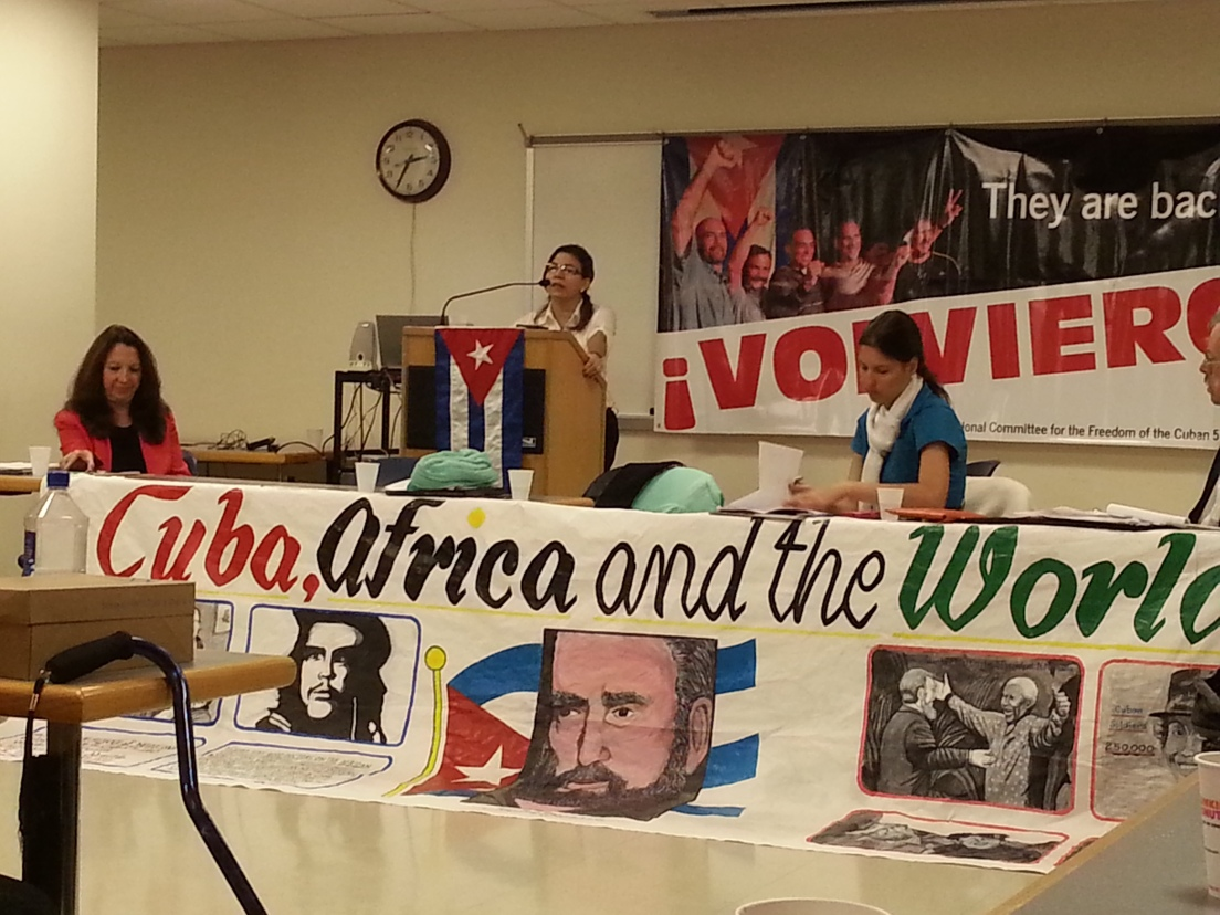 Cuba Speaks for Itself, organized by the National Network on Cuba Fall meeting with ICAP delegation visiting the US