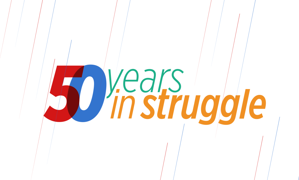 50 Years in Struggle