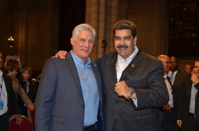 Diaz-Canel and Maduro 26-9-18