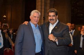Diaz-Canel and Maduro 26-9-18